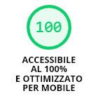 Accessibile al 100% e ottimizzato